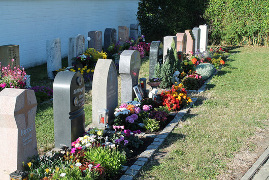 Urnengrabanlage im Friedhof Bad Windsheim